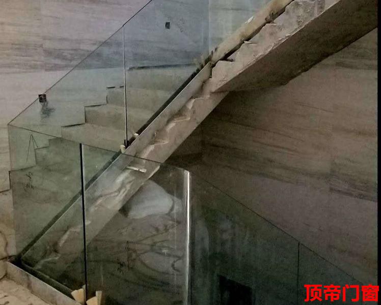 极简楼梯直弯护栏